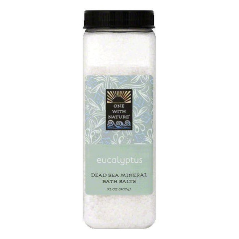 One with Nature Eucalyptus Bath Salts, 32 OZ
