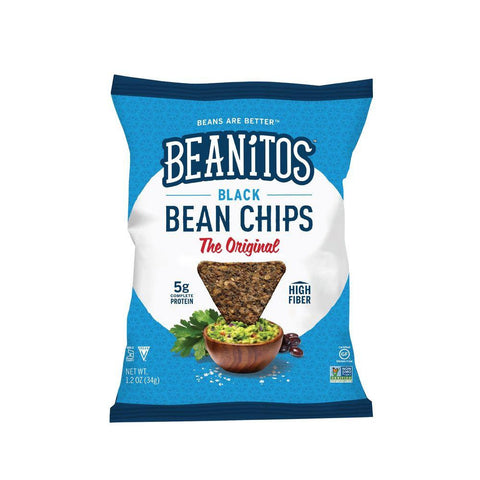 Beanitos Black Bean Chips The Original, 1.2 OZ (Pack of 24)