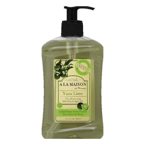 A La Maison Yuzu Lime Liquid Soap, 16.9 FO