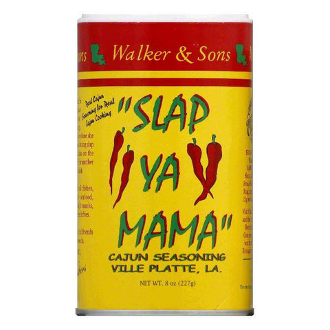 Slap Ya Mama Original Cajun BBQ Seasoning, 8 OZ (Pack of 12)