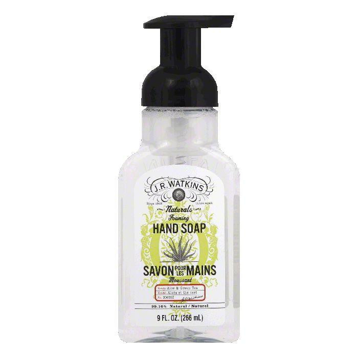 JR Watkins Aloe & Green Tea Foaming Hand Soap, 9 Oz