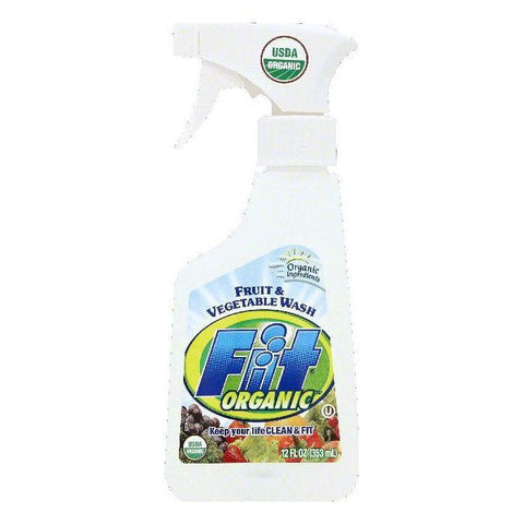 Fit Fruit & Vegetable Wash, 12 OZ (Pack of 24)