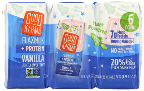 Good Karma Flaxmilk Vanilla, 40.5 fl oz (Pack of 3)