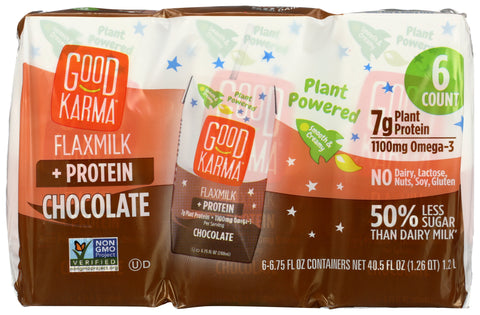 Good Karma Flaxmilk Chocolate, 40.5 fl oz (Pack of 3)