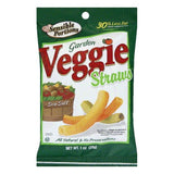 Sensible Portions Sea Salt Garden Veggie Straws, 1 OZ (Pack of 24)