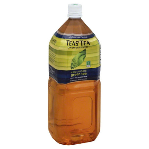 Teas Tea Unsweetened Green Tea, 67.59 Fo (Pack of 6)