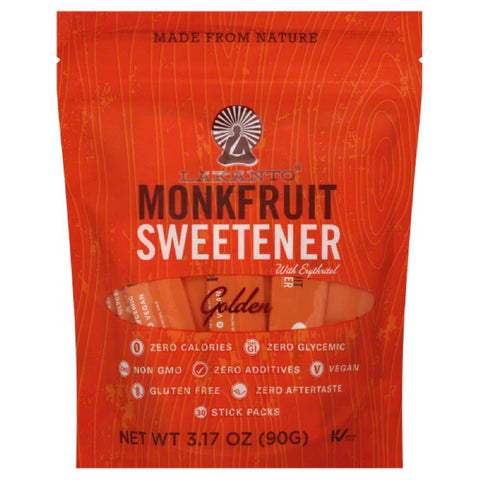 Lakanto Golden Monkfruit Sweetener, 3.17 Oz (Pack of 8)