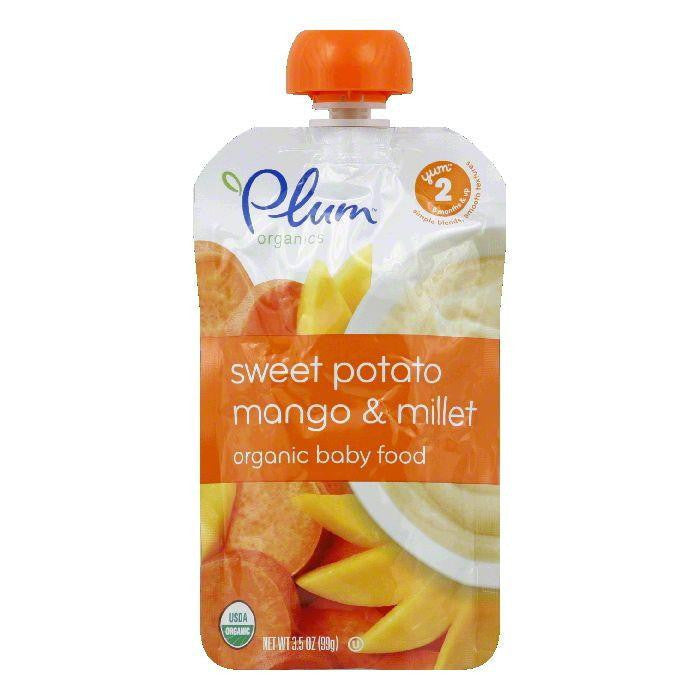 Plum Organics Baby Food Swt Pot Mngo Mllt, 3.5 OZ (Pack of 6)