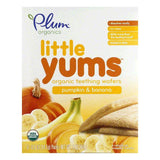 Plum Organics Pumpkin Banana 6pk Biscuit, 2.8 OZ (Pack of 6)