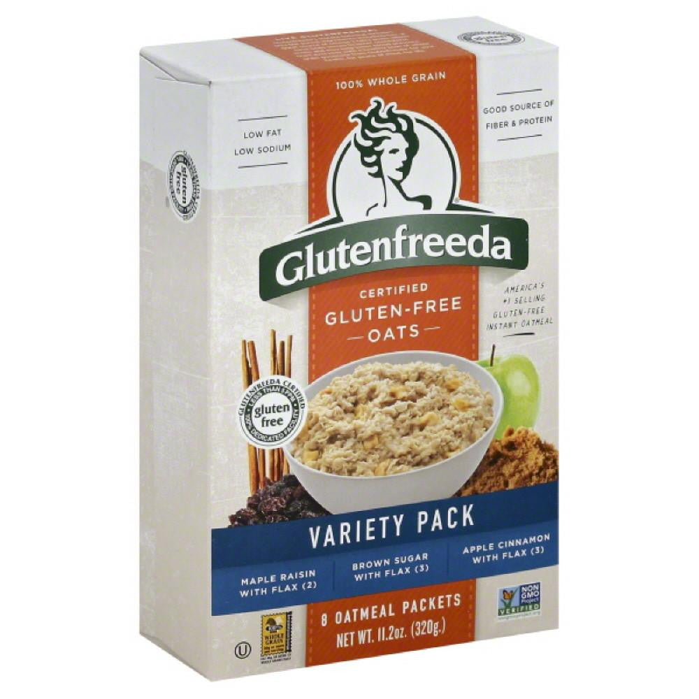 Glutenfreeda Variety Pack Oatmeal, 11.2 Oz (Pack of 8)