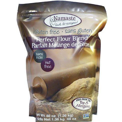 Namaste Foods Gluten Free Perfect Flour Blend, 48 OZ (Pack of 6)