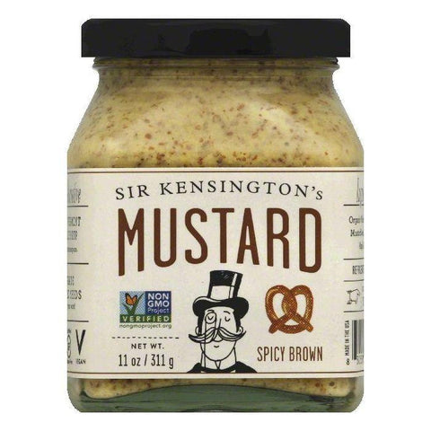 Sir Kensingtons Spicy Brown Mustard, 11 OZ (Pack of 6)