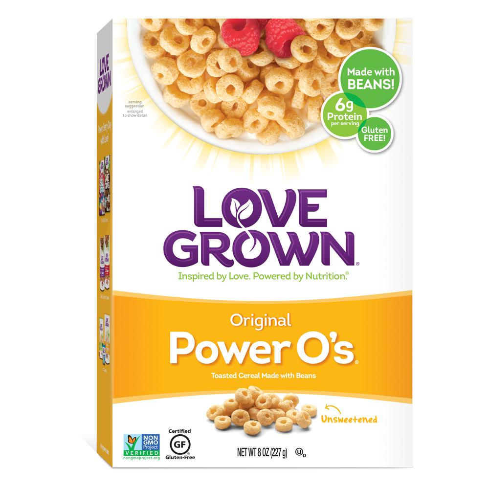 Love Grown Original Power O's, 8 Oz (Pack of 6)