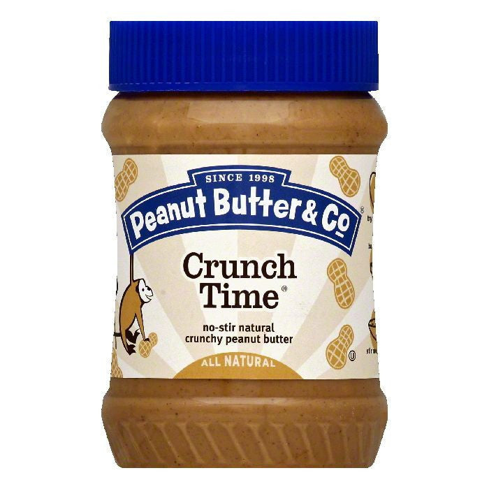 Peanut Butter & Co. Crunch Time, 16 OZ (Pack of 6)