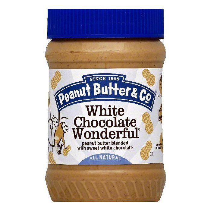Peanut Butter & Co White Chocolate Wonderful Peanut Butter, 16 OZ (Pack of 6)