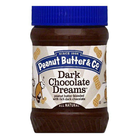 Peanut Butter & Co Dark Chocolate Dreams Peanut Butter, 16 OZ (Pack of 6)