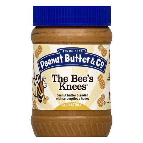 Peanut Butter & Co The Bee's Knees Peanut Butter, 16 OZ (Pack of 6)