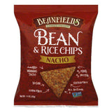 Beanfields Nacho Bean & Rice Chips, 1.5 Oz (Pack of 24)