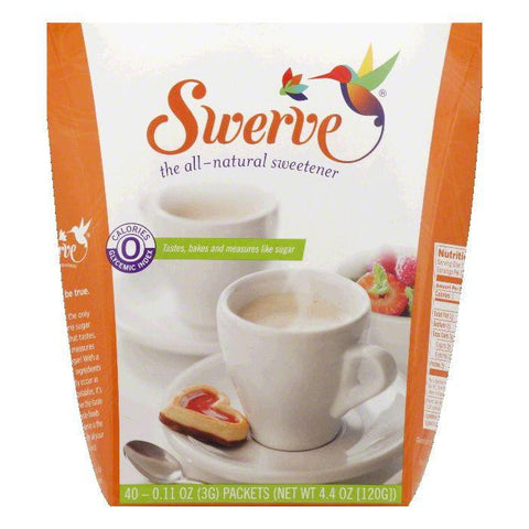 Swerve Sweetener, 40 PC (Pack of 6)
