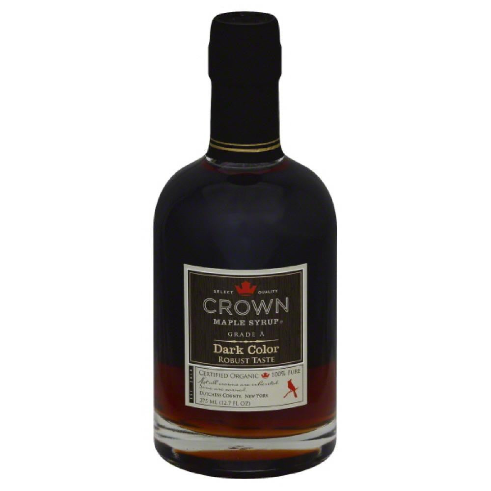 Crown Maple Dark Color Maple Syrup, 12 Fo (Pack of 6)
