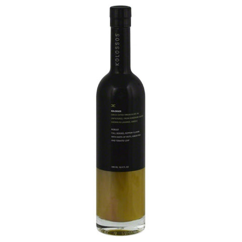 Kolossos Extra Virgin Greek Olive Oil from Koroneiki Olives, 500 Ml (Pack of 6)