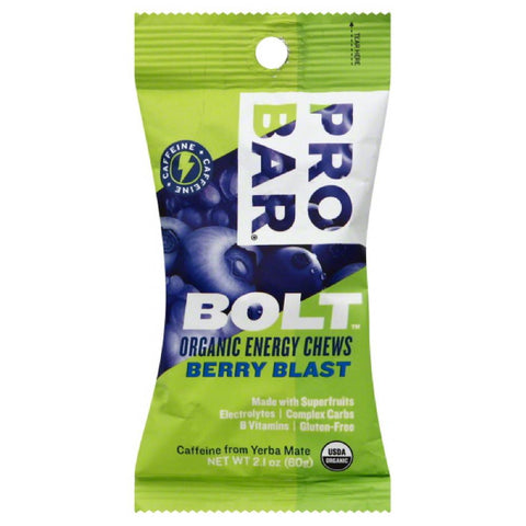 Probar Berry Blast Organic Energy Chews, 2.1 Oz (Pack of 12)