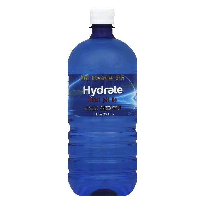 Hydrate Alkaline Ionized Hydrate Water, 33.8 OZ (Pack of 12)