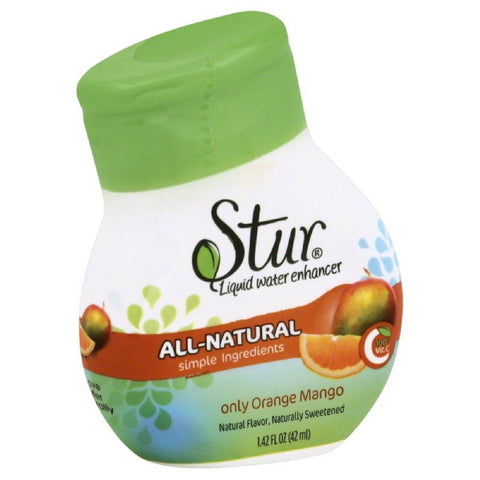 Stur Orange Mango Liquid Water Enhancer, 1.4 Oz (Pack of 6)