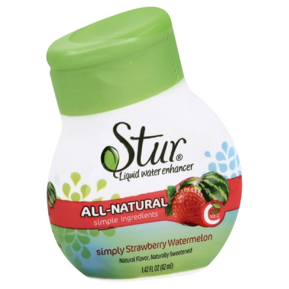 Stur Simply Strawberry Watermelon Liquid Water Enhancer, 1.4 Oz (Pack of 6)