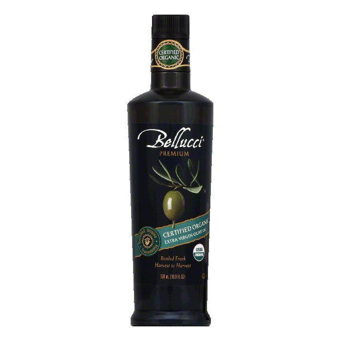 Bellucci Certified Organic Extra Virgin Olive Oil, 500 ML (Pack of 6)
