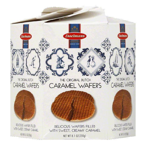 Daelman's Stroopwafel Caramel Wafer, 8.1 OZ (Pack of 9)