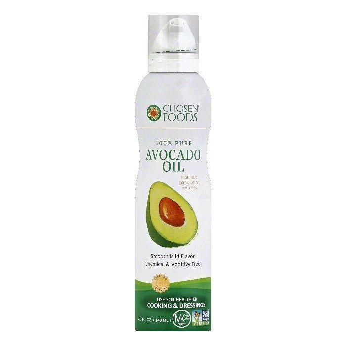 Chosen Foods 100% Pure Avocado Oil, 4.7 OZ (Pack of 6)