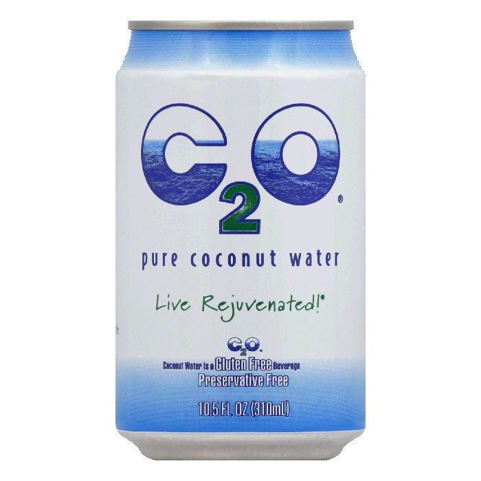 C2O Pure Coconut Water, 10.5 OZ (Pack of 24)