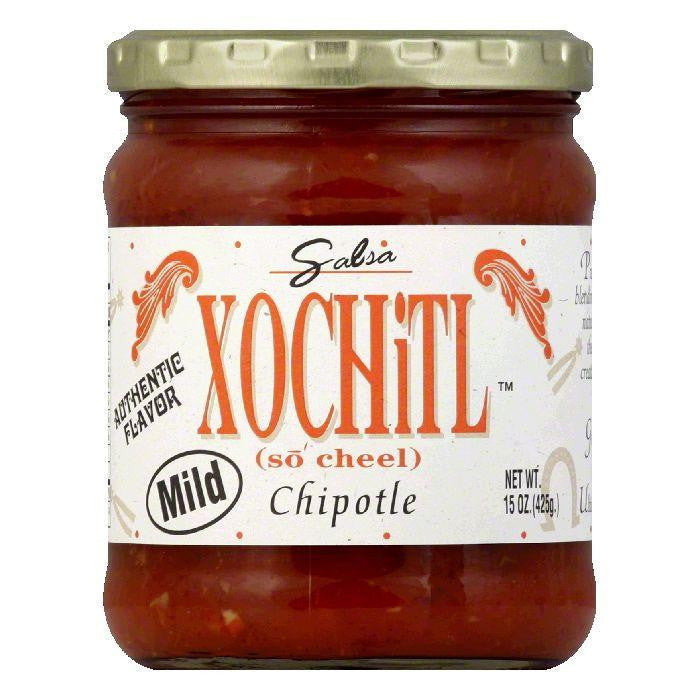 Xochitl Salsa Chipotle Mild, 15 OZ (Pack of 6)