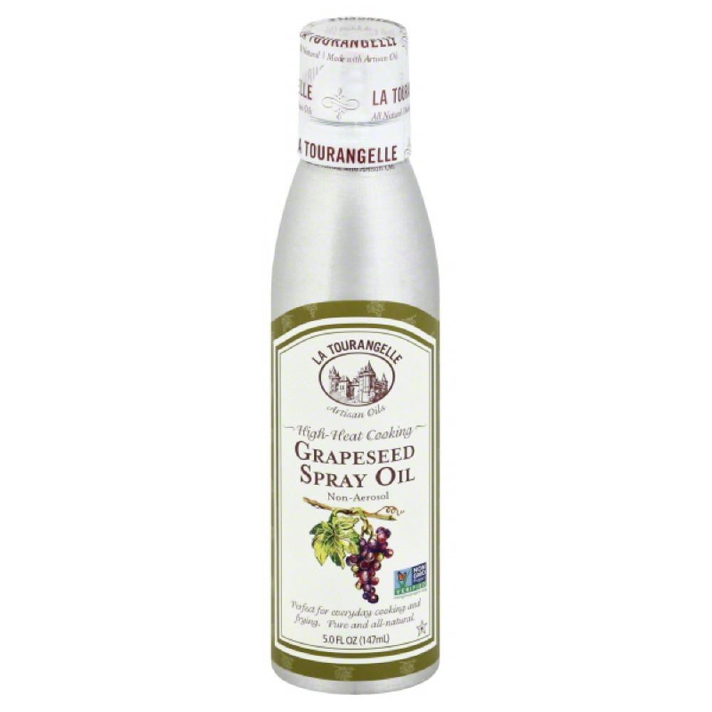 La Tourangelle Non-Aerosol Grapeseed Spray Oil, 147 Ml (Pack of 6)
