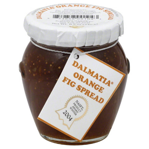 Dalmatia Orange Fig Spread, 8.5 Oz (Pack of 12)