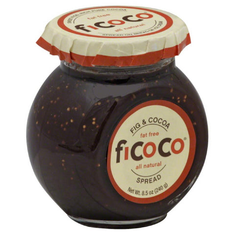Ficoco Fig & Cocoa Spread, 8.5 Oz (Pack of 12)
