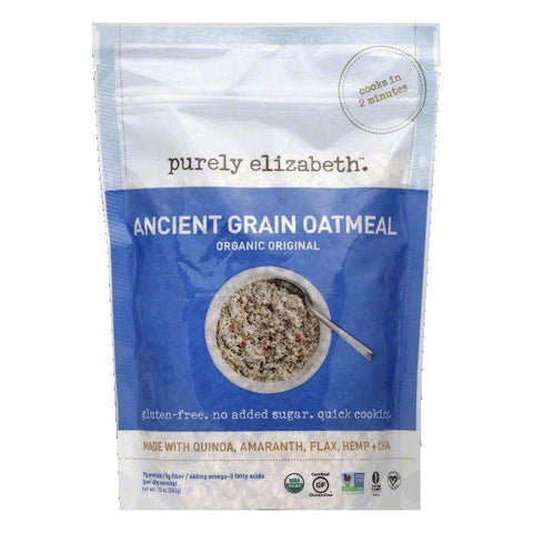 Purely Elizabeth Original Organic Ancient Grain Oatmeal, 10 OZ (Pack of 6)
