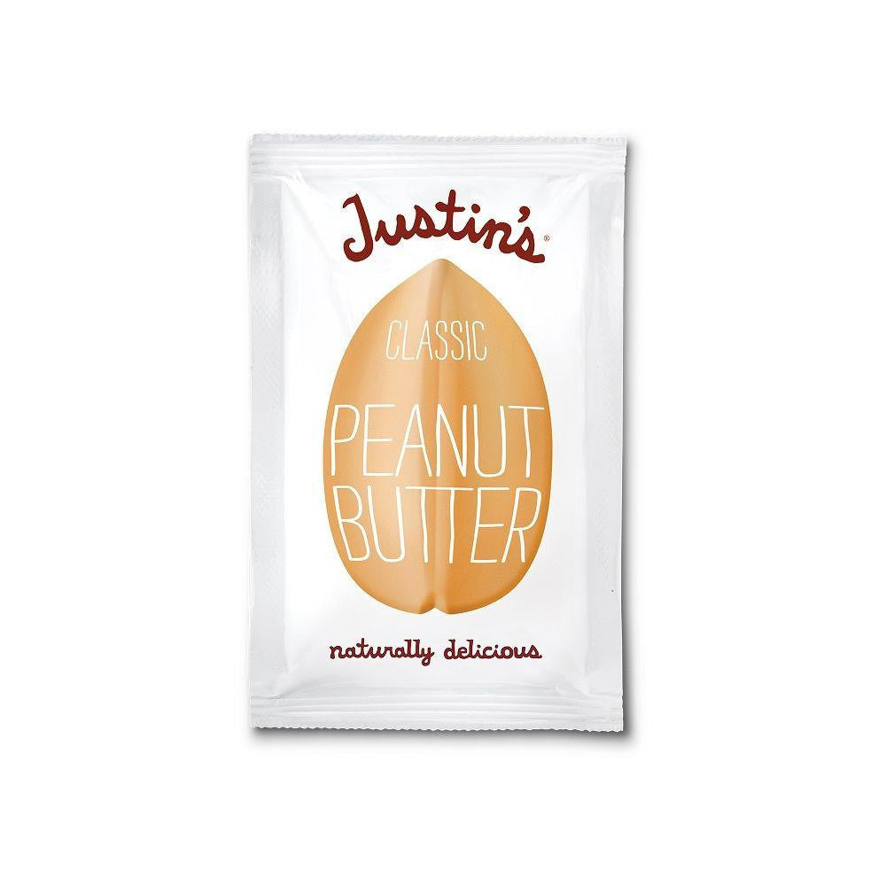 Justin's Natural Classic Peanut Butter Squeeze Packs, 1.15 OZ (Pack of 10)