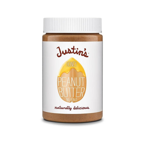 Justin's Natural Honey Peanut Butter, 16 OZ (Pack of 12)