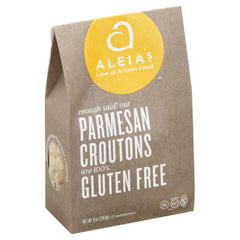 Aleias Parmesan Croutons, 10 Oz (Pack of 6)