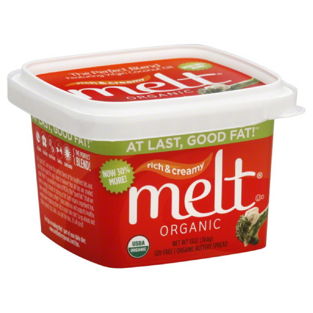 Melt Organic Buttery Spread, 13 Oz (Pack of 12)
