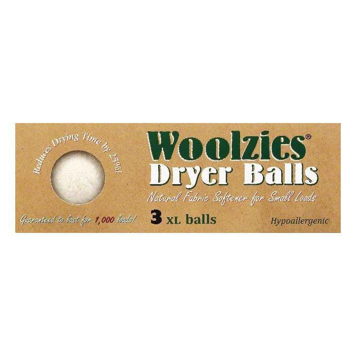 Woolzies XL Dryer Balls, 3 ea (Pack of 12)