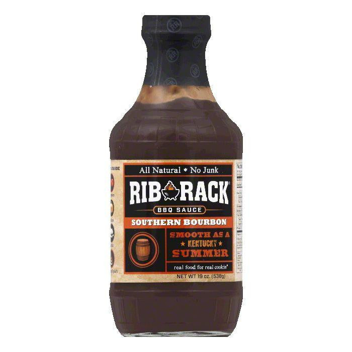 Rib Rack Southern Bourban BBQ Sauce, 19 OZ (Pack of 6)
