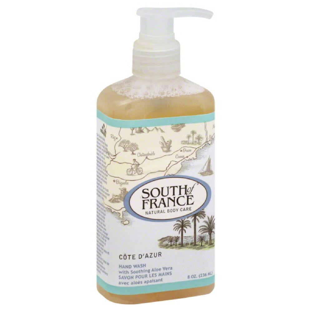 South of France Cote D'Azur Hand Wash, 8 Oz (Pack of 3)