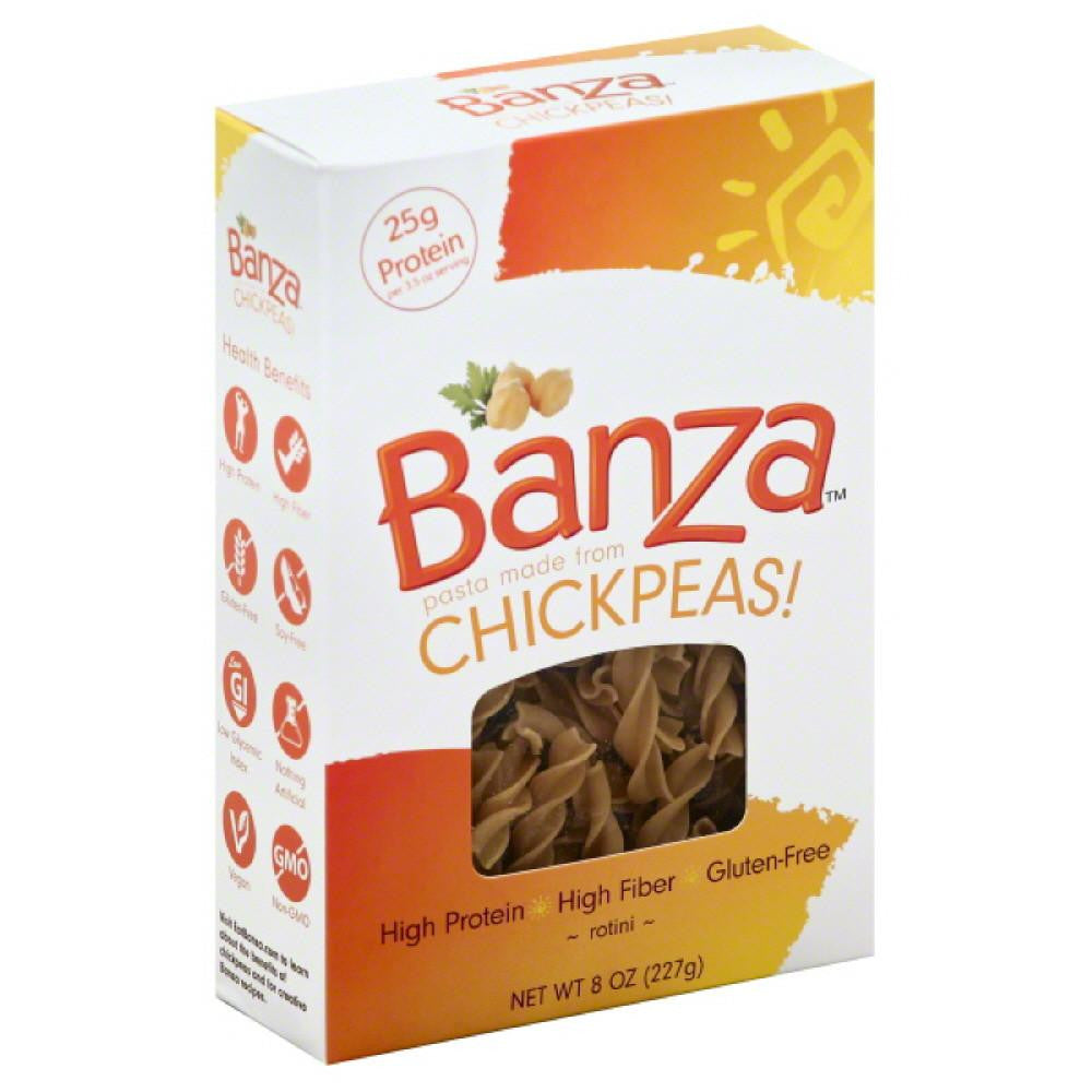 Banza Rotini, 8 Oz (Pack of 6)