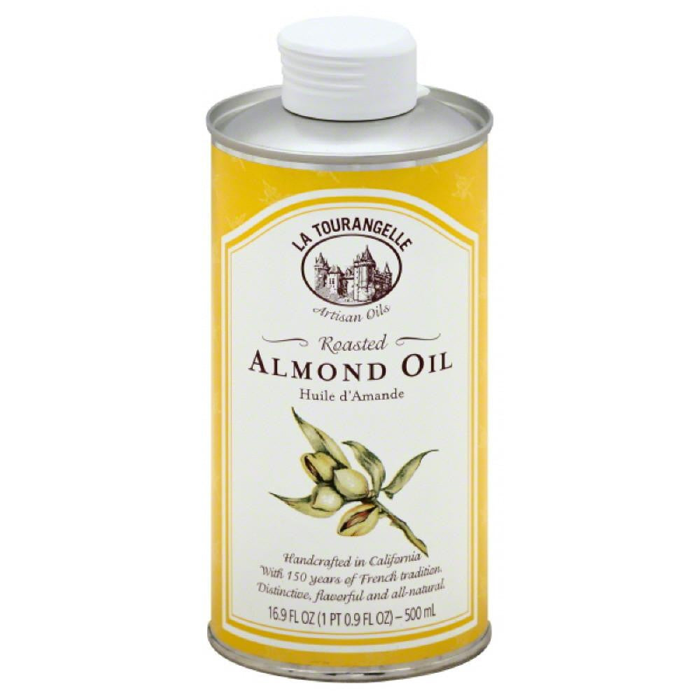 La Tourangelle Roasted Almond Oil, 16.9 Oz (Pack of 6)
