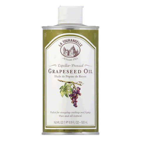 La Tourangelle Grapeseed oil, 16.9 OZ (Pack of 6)