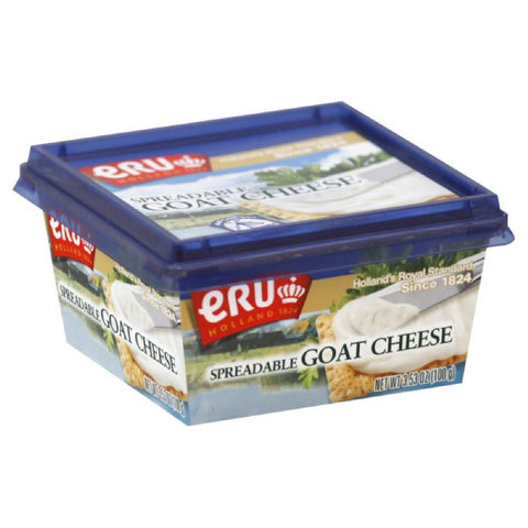 Eru Goat Spreadable Cheese, 3.5 Oz (Pack of 12)