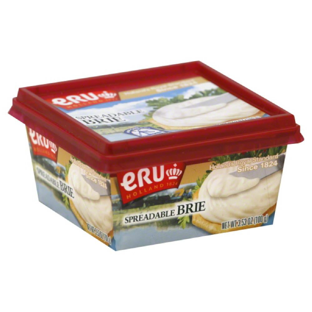 Eru Brie Spreadable Cheese, 3.5 Oz (Pack of 12)